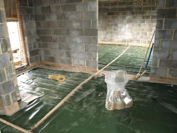 Radon mitigation new construction